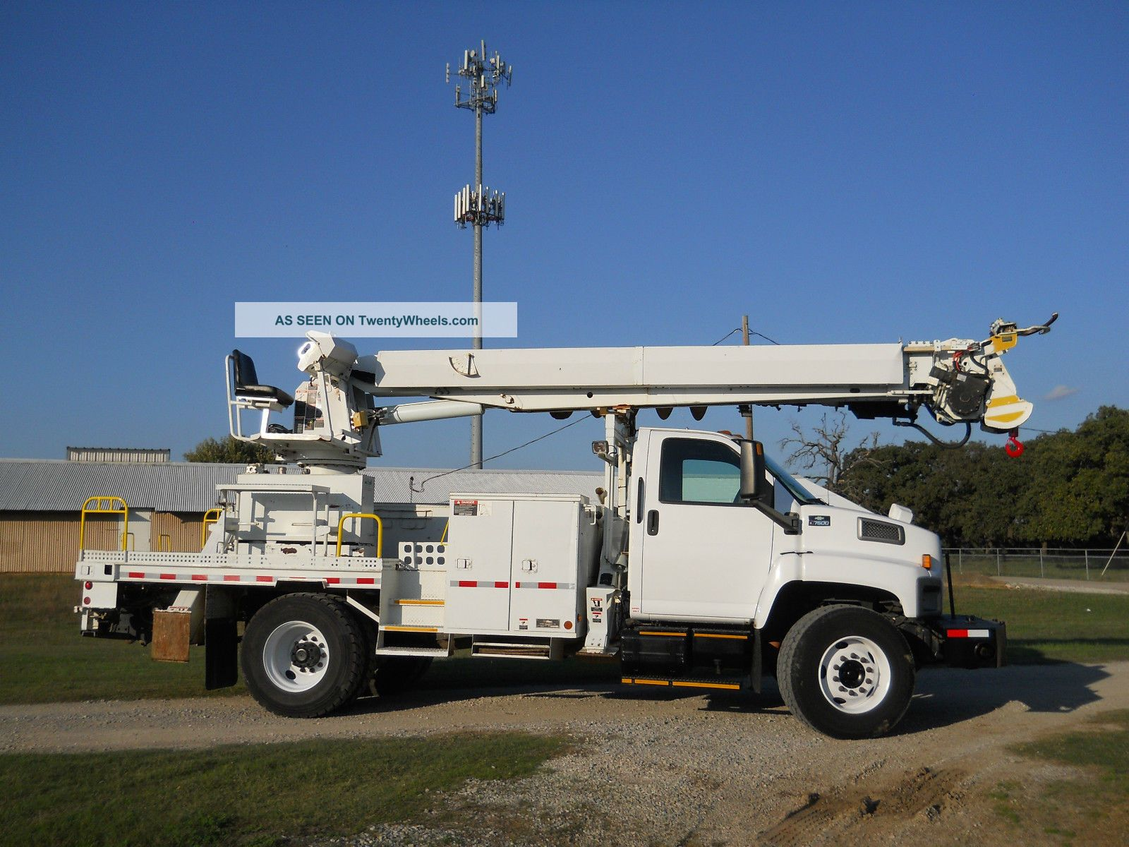 Bucket Truck Controls : Chevrolet c hetronic remote ground control