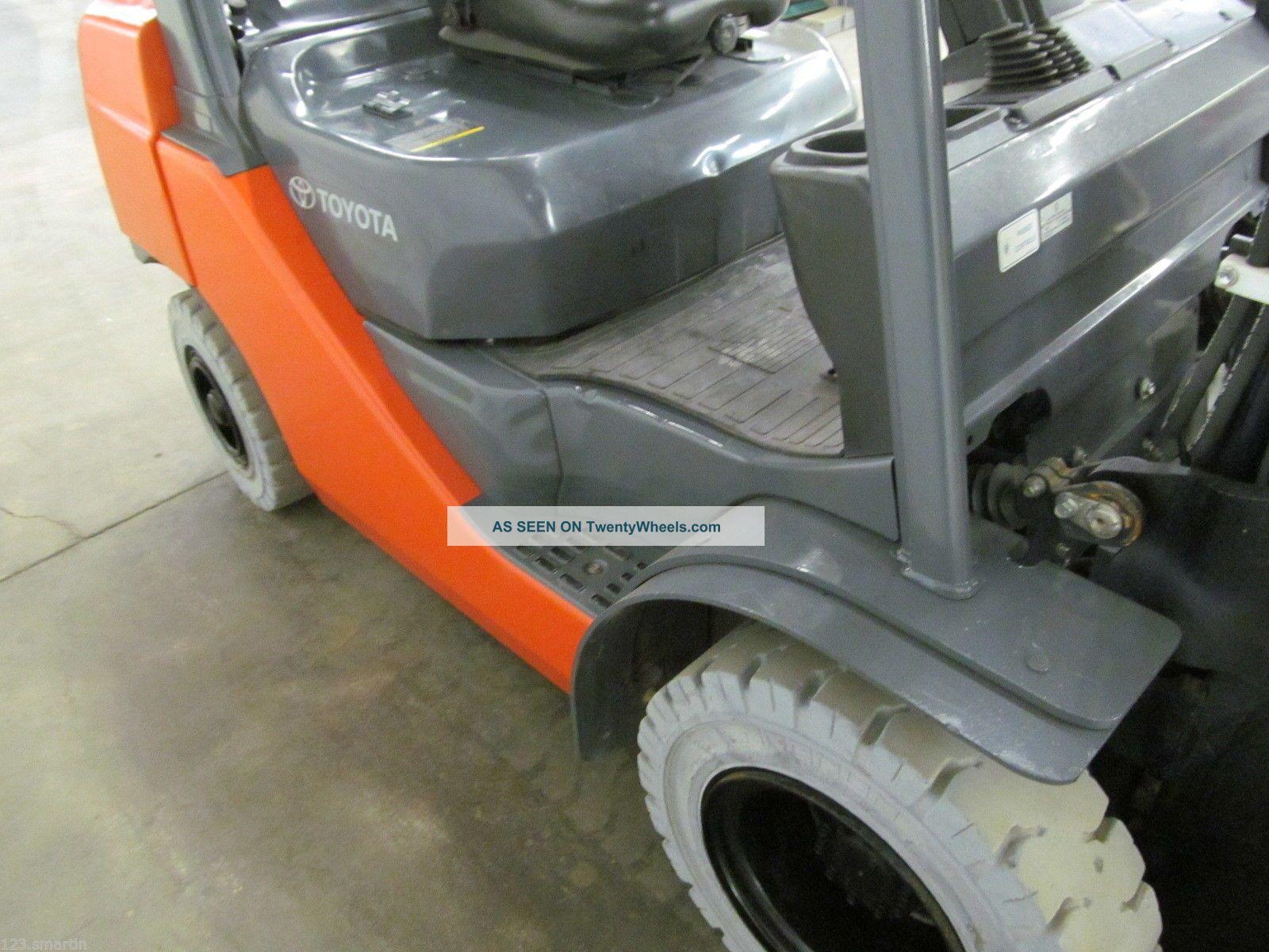 Ford 4000 Warner Swasey Fork Lift : Toyota fgu forklift solid pneumatics