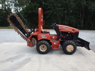 2010 Ditch Witch Rt45 Center Cut Trencher,  Front Blade,  Vermeer,  Case,  Astec photo