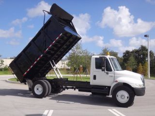 2005 International 4300 14ft Dump Truck photo