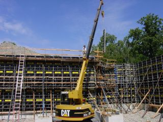 Cat 307 Crane 4.  9 Ton Compact Rubber Track photo