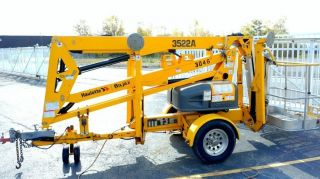 2012 Bil - Jax 3522a Tow Behind Boom Lift 41 ' Work Height photo