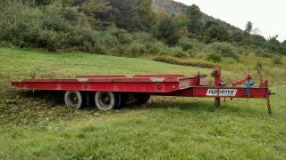 Reduced Trailer,  28ft Oal,  22ft X 8ft Bed,  Rogers,  1989,  36,  000lbs Capacity photo
