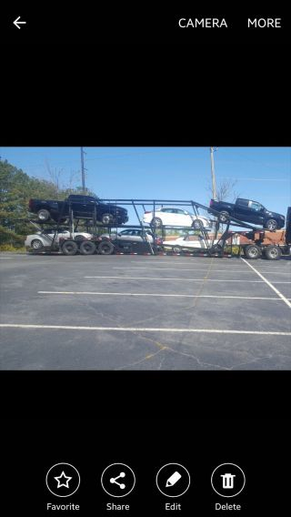 Car Hauler Trailer Hold 7 photo