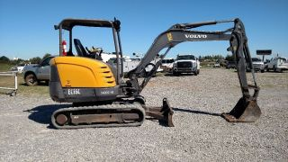2012 Volvo Ec35c Open Small/compact Excavator Trackhoe photo