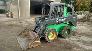 2011 John Deere 318d Skid Steer Loader 1230 Hours photo