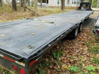 2013 Pj Low Profile Trailer 40ft photo