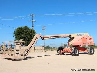 2006 Jlg 460sj Boom Lift - Man Lift - Scissor Lift - Aerial Lift - 23 Pics photo