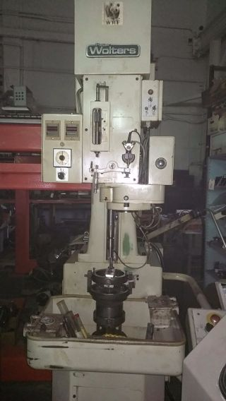 Peter Wolters Il - 12 - C Vertical Hone Honing Machine Lapmaster - Finishing photo