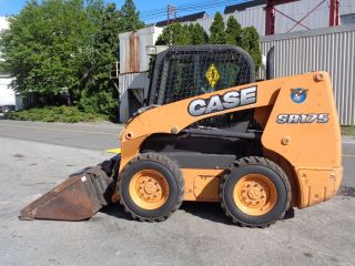 2012 Case Sr175 Wheel Skid Steer Loader - - Enclosed Cab Ac & Heat photo