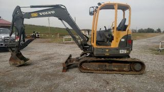2011 Volvo Ecr58 Open Cab Small / Mini / Midi / Compact Excavator photo