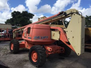 1999 Jlg 600a Articulated Boom Lift photo
