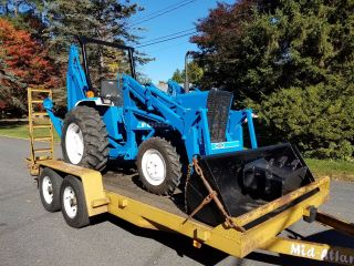 Ford 1910 4x4,  Backhoe Loader,  1484 Hours,  32 Hp Diesel,  Shuttle Shift photo