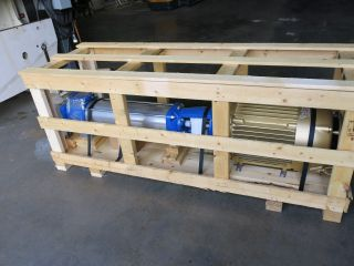 Goulds E - Sv Pump & 50 Hp Motor 33sv90gr4f60 In Crate photo