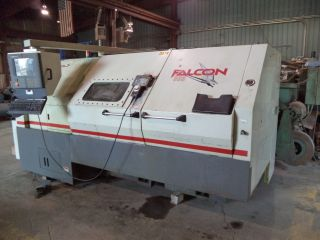 Cincinnati Falcon 300t - 1000 Cnc Turning Center (lathe) 12