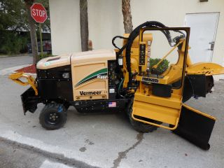 Vermeer Stump Grinder Sc652 4 X 4 Year (year 2012) photo