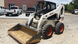 2005 Bobcat S300 Skid Steer Loader; Tires; 2306 Hours; photo