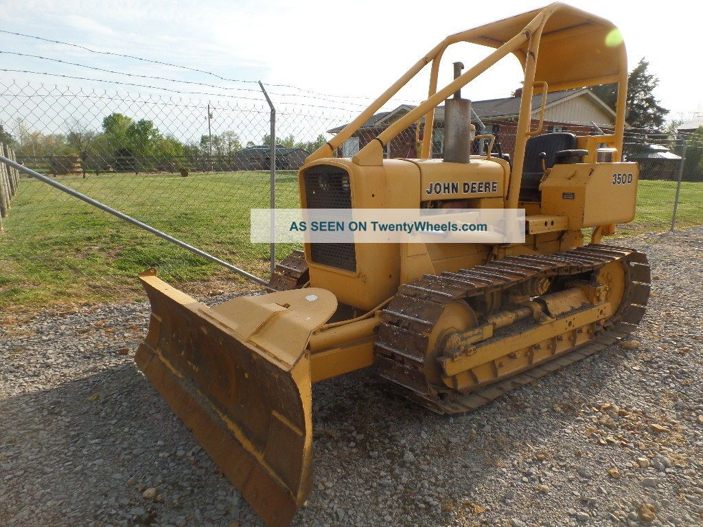 John Deere 350d 6 Way Dozer One Of The Last Small Jd Dozers Crawler Dozers & Loaders photo