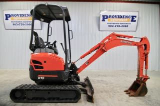 2009 Kubota U15 Mini Excavator,  2 - Speed,  Retractable Tracks, photo