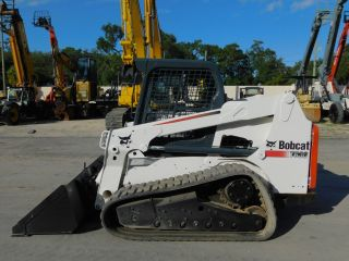 2011 Bobcat T - 630 Turbo Skid Steer Track Loader - Power Coupler photo