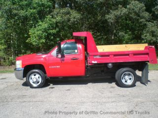 2009 Chevrolet 3500hd Mason Dump Just 8k Miles One Owner Hard To Find photo
