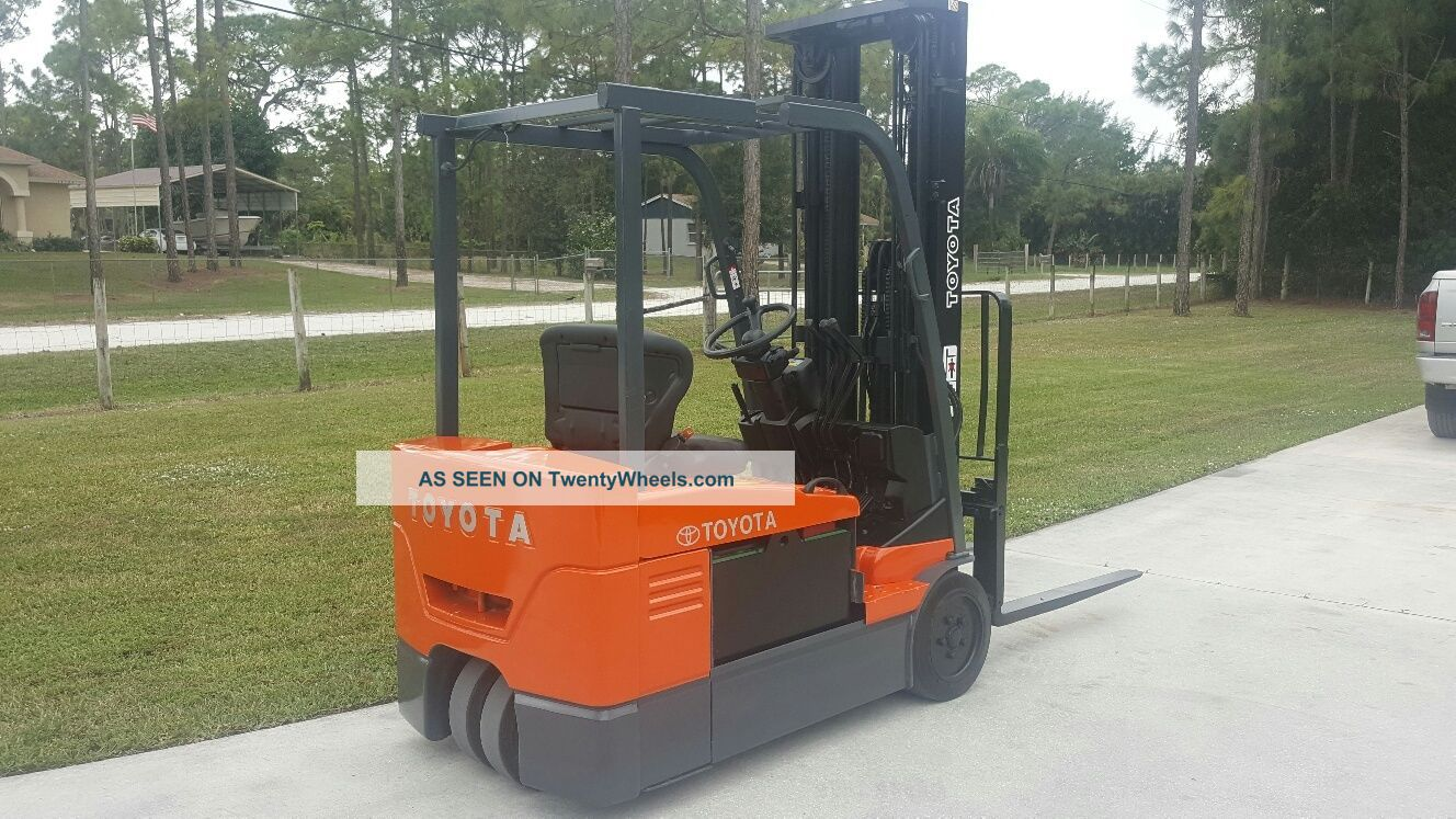 Innovative Toyota Forklift 4000 Lbs Electric 36v Forklifts Photo 3