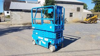 2006 Genie Gs1930 Scissor Man Lift 24v Battery Operated Construction Machinery photo