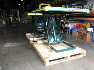 Southworth Hydraulic Scissor Lift 48x48 2000lb 110 Volt Unused Last One photo
