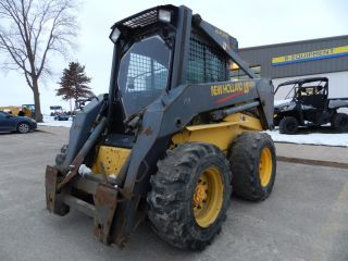 Holland Ls180 Skid Steer Cab And Heat photo