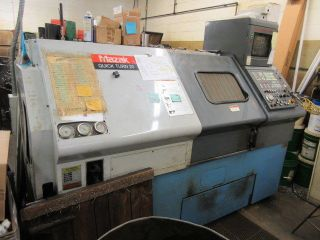 Mazak Qt - 20 Cnc Lathe T - Plus,  Tool Pre - Setter,  Chip Conveyor photo