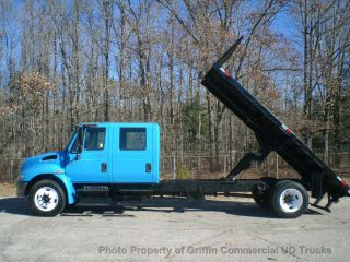 2003 International Crew Cab Dump Just 44k Miles One Owner Tn Truck Automatic photo