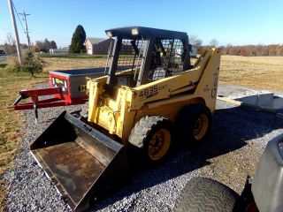 Gehl 4835 Dxt Turbo Skid Steer Loader.  2675 Hrs.  High Flow. photo