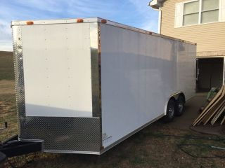 8.  5x20 Enclosed Trailer photo