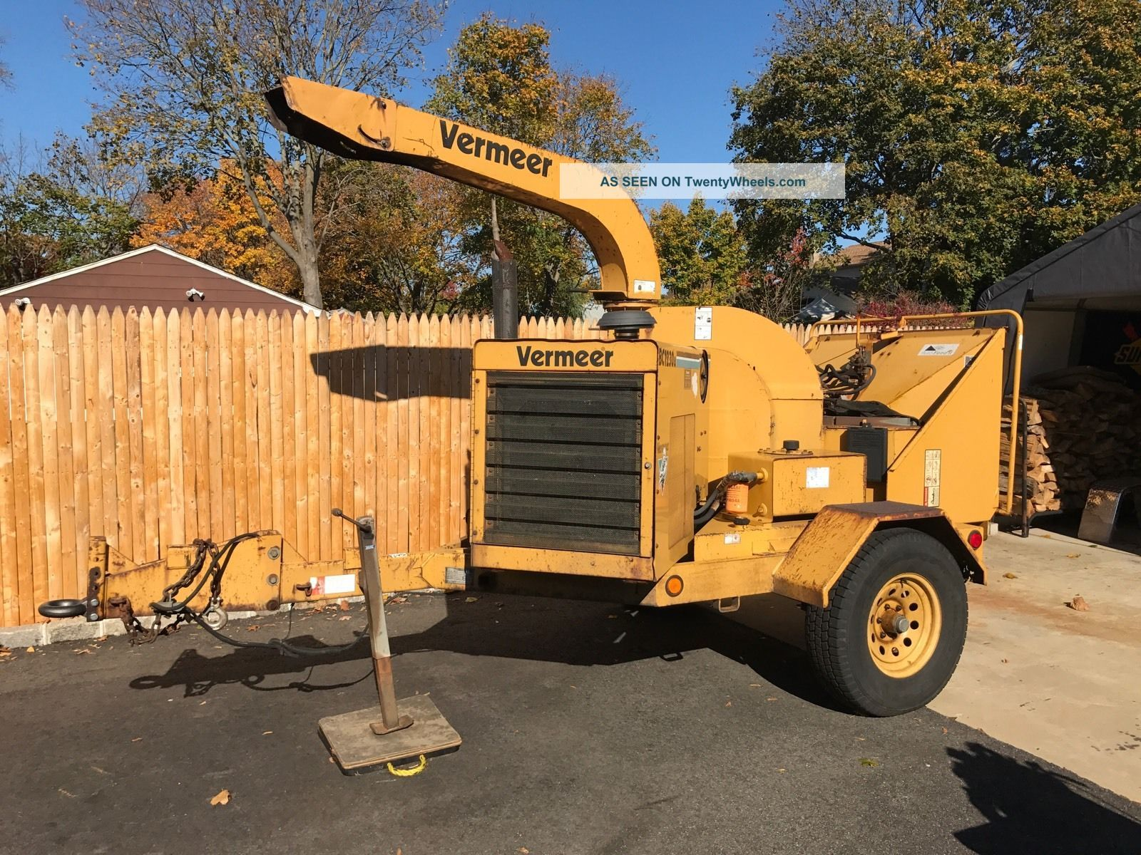2001 Vermeer Bc1230a Chipper Diesel, Wood Chippers & Stump Grinders photo