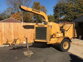 2001 Vermeer Bc1230a Chipper Diesel, photo