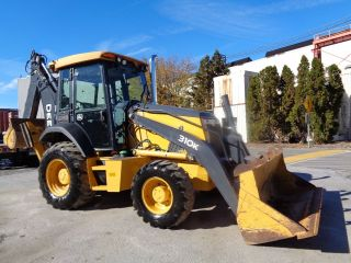 2012 John Deere 310k Backhoe Loader - Extendahoe - 4x4 - Enclosed Cab - 882 Hours photo