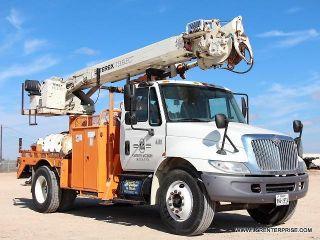 2006 International 4300 Dt466 Digger Derrick Truck - Dump - Bed - Tilt - Lsr Enterprise photo