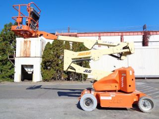 Jlg E400a 40ft Electric Boom Man Aerial Lift - Only 969 Hours photo
