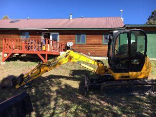 Excavator Jcb 8045 photo