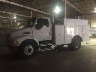 Sterling 360 Service Truck 20,  000 Miles photo