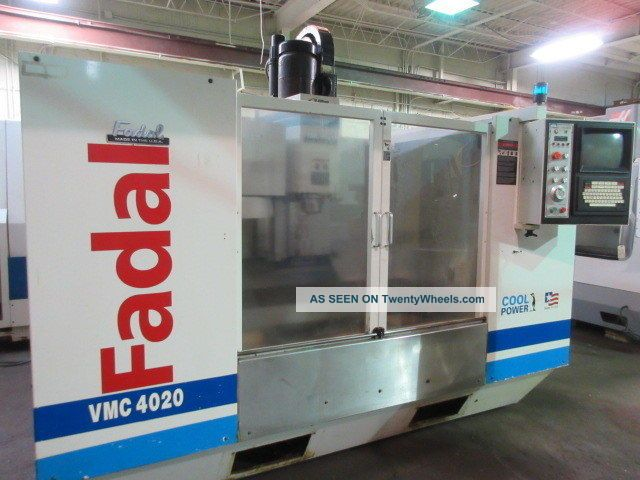 Fadal Vmc - 4020ht Cnc Machining Center Milling Machines photo