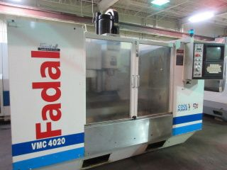 Fadal Vmc - 4020ht Cnc Machining Center photo