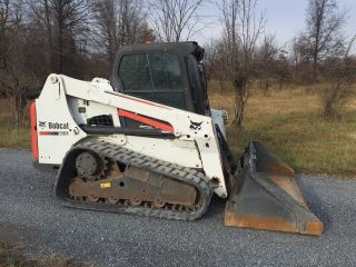 2012 Bobcat T630 Compact Track Skid Loader Enclosed Cab Low Hour Cheap photo