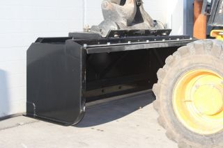 8 ' Push/pull Snow Pusher,  Plow,  Skid Steer Quick Attach Bobcat Case,  Snow Box photo