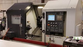 Feeler Ht - 30sy Cnc Turning Center Sub Spindle Live Tool Y Axis Fanuc Lns 11 photo