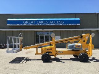 2007 Bil - Jax X36t Self Propelled Str Boom Lift Man 4x4 Hybrid Kawasaki 45xa X45 photo