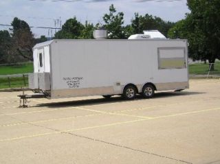 24ft Mobile Kitchen Trailer photo
