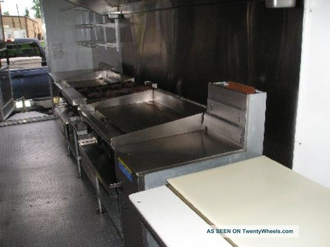 24ft Mobile Kitchen Trailer