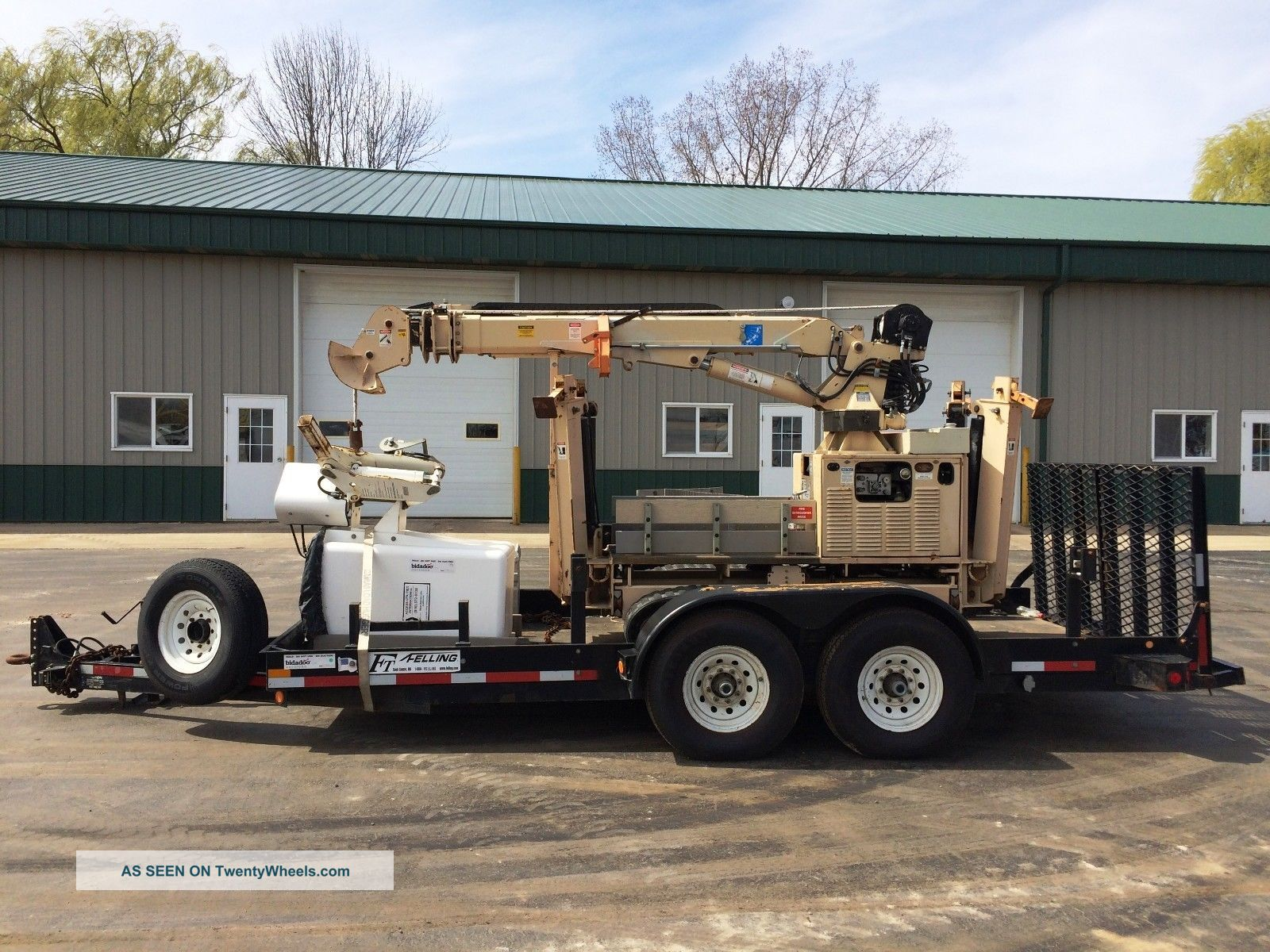 2004 Tiiger - I Mini Digger Derrick Trencher With Trailer & Aerial Bucket Manlift Cranes photo