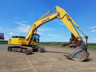 2003 Komatsu Pc300 Lc - 7l Excavator Hydraulic Diesel Track Hoe Cab Machine Thumb photo